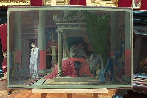 """""""La Maladie d'Antiochus"""" (1840) de Jean-Auguste-Dominique Ingres est conservé au Musée Condé du Domaine de Chantilly."""