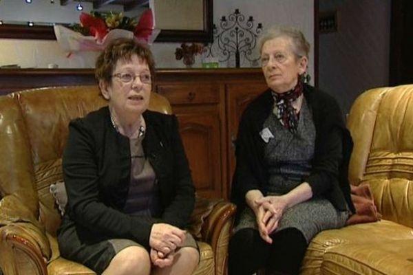 Josette et Blanche les deux soeurs rescapés de la rafle du 10 janvier 944