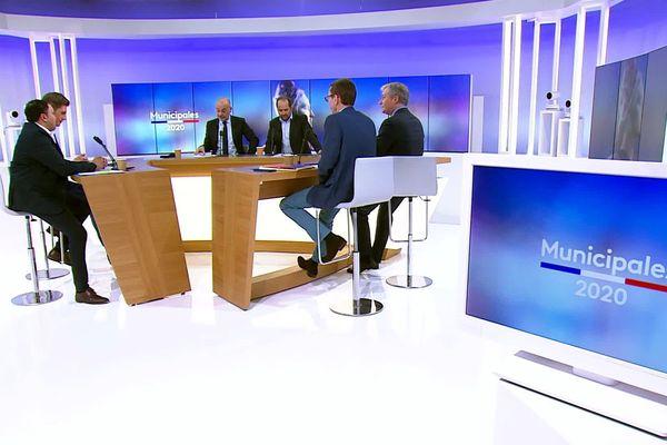 France 3 Lorraine organisait mercredi 26 février un débat pour les municipales à Nancy.