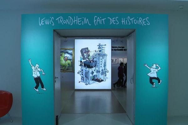 L'exposition consacrée à Lewis Trondheim à la cité Internationale de la Bande Dessinée d'Angoulême est visible jusqu'au 10 mai 2020.