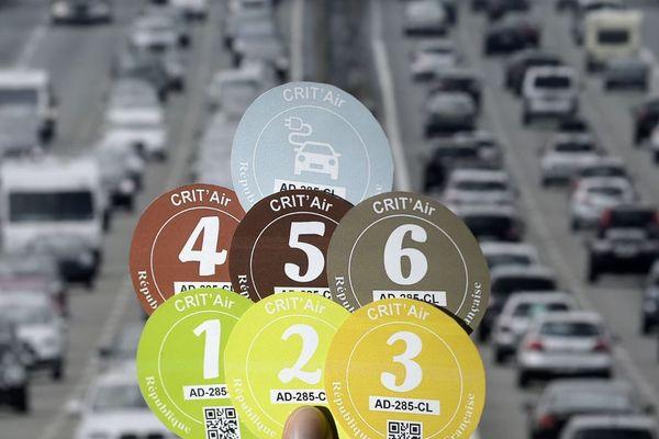 Les véhicules classés Crit'Air 4 sont bannis de Paris en semaine, à partir du 1er juillet 2019 (illustration).