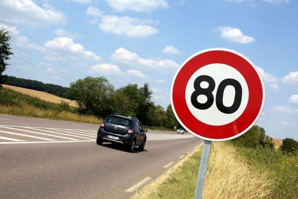 Le passage aux 80km/h, un sujet qui a marqué l'année 2018