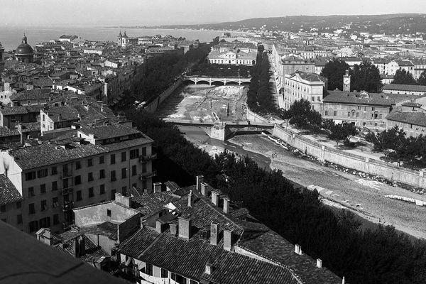 Vue de Nice prise depuis la Tour Saint-François