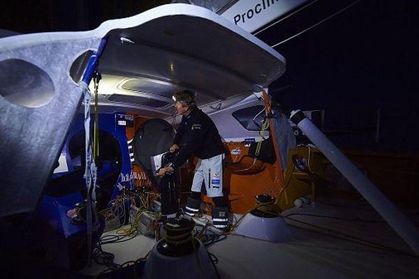 Jean-Pierre Dick occupe la 7ème place du Vendée globe
