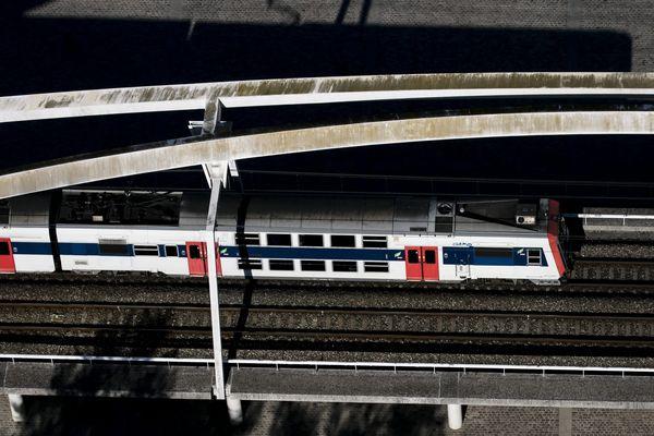 Le RER transporte 600 000 voyageurs chaque jour (illustration).