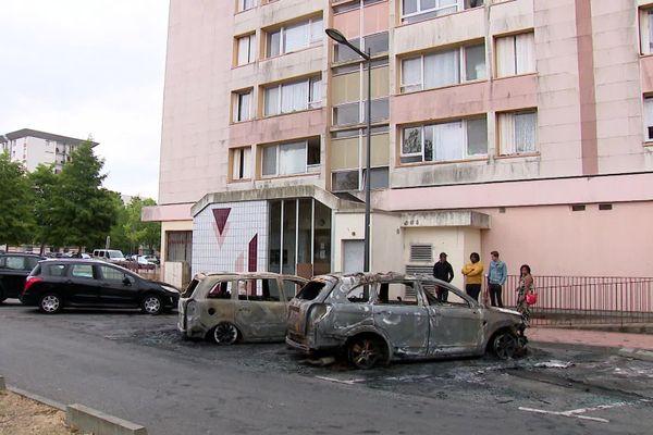 15 juillet 2020 – Evreux- Voitures incendiées dans le quartier de la Madeleine