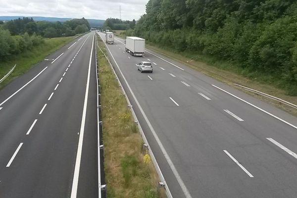 L'A20 à hauteur de Bessines-sur-Gartempe (illustration).
