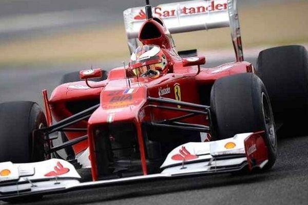 Jules Bianchi sur Ferrari
