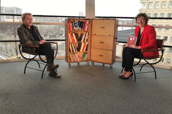 Caryl Férey invité de la Bibliothèque Vagabonde