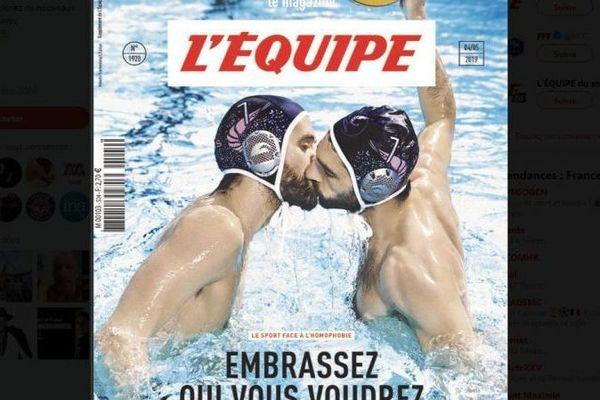 """La une du magazine de """"L'Equipe"""" paru le 4 mai 2019."""