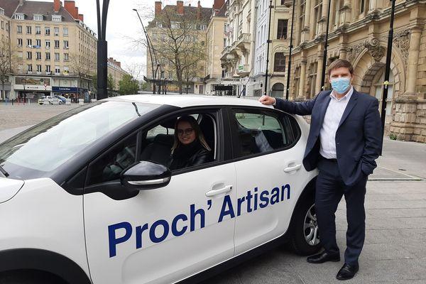 Laurent Rigaud, président des bouchers du Nord et de la chambre de métiers et de l'artisanat des Hauts-de-France, est à l'origine de l'opération Proch'Artisan.