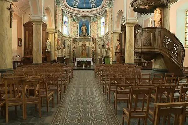La facture de chauffage de l'église d'Haillicourt a été payée par un mystérieux bienfaiteur.