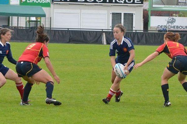 C'est la troisième fois que la Corrèze accueille le Championnat d'Europe féminin de rugby à 7. Mais cette fois, il est décisif pour Rio 2016 !