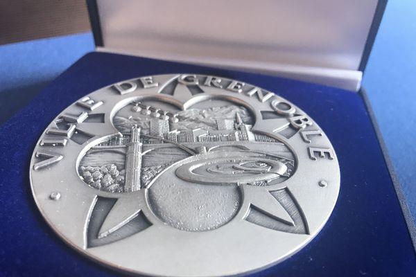 Médaille honorifique de la ville de Grenoble