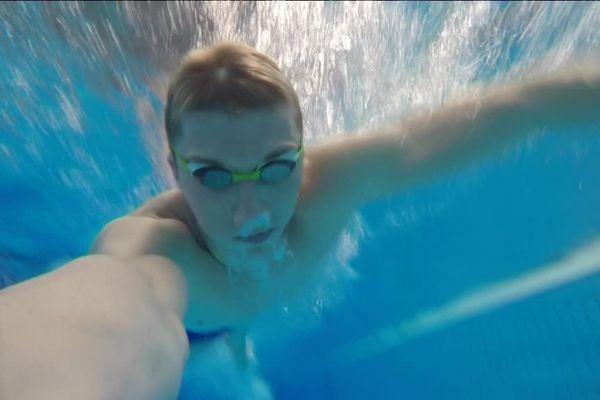 Alexandre Derache est l'un des espoirs de l'Amiens métropole natation.