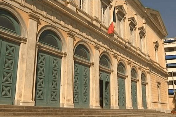 Le tribunal correctionnel de Bastia.