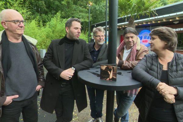 The Barnguys devant le BBC à Hérouville St-Clair ou vous pourrez découvrir leur nouvel album le 2 novembre.