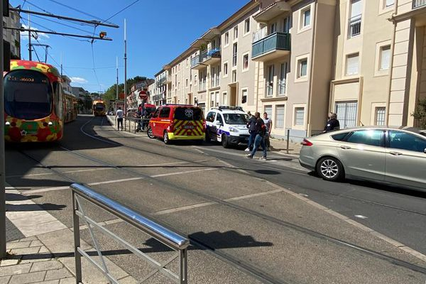 Montpellier : un blessé par balles dans le quartier des beaux-Arts et un véhicule en fuite - 19 avril 2021.