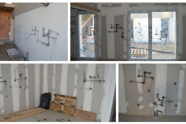 Un ouvrier a découvert des croix gammées dans un immeuble en construction à Blois (Loir et Cher)