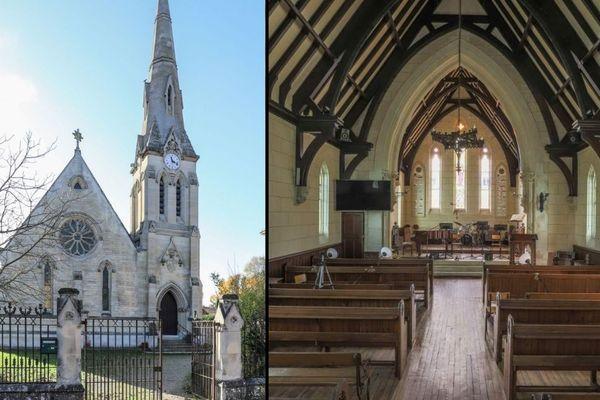 L'ancienne église anglicane, construite au XIXe siècle recherche encore un revendeur. Son prix : 587.000 euros