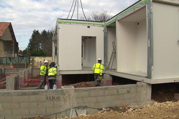 La nouvelle école de St-Sornin en Charente ouvrira à la rentrée de mars après les vacances d'hiver 2020.