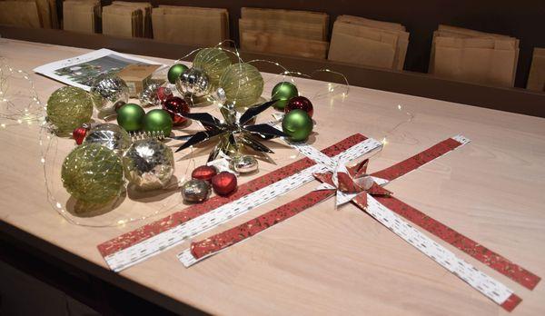 Proposition de d'objets de décoration pour le sapin de Noël 2019, à petit prix, par Fanny et Alexia de Søstrene Grene.