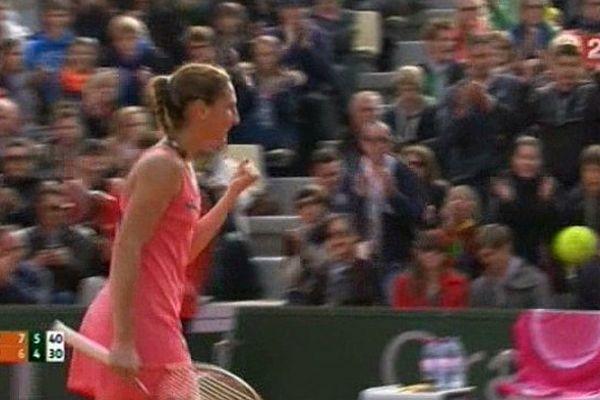 Tennis à Roland Garros, qualification de la joueuse nîmoise Virginie  Razzano