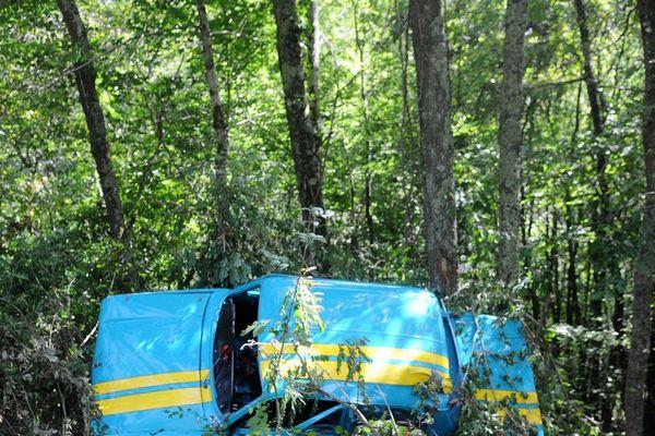 Un véhicule avait fait une sortie de route fauchant mortellement 3 personnes.