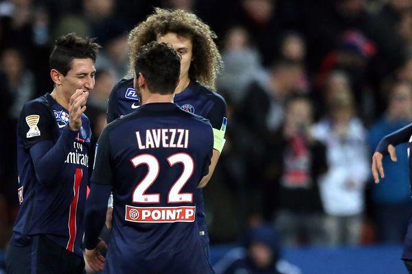 La demi-finale de la coupe de la Ligue, PSG-Toulouse, au Parc des Princes, le 27 janvier 2016.