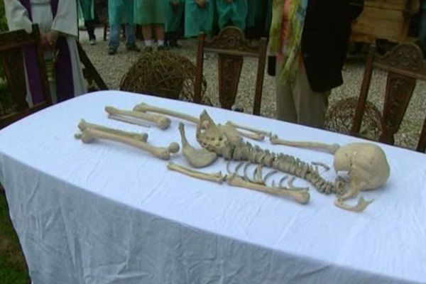 Bénédiction ossuaire Poutrincourt