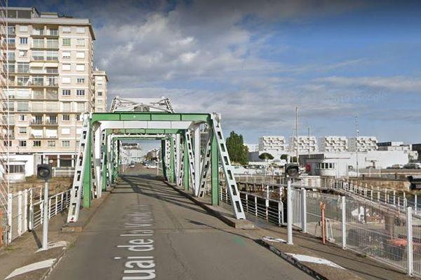 Le Pont levant de Saint-Nazaire est fermé à la circulation