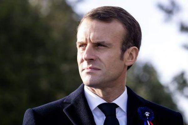 Emmanuel Macron, le 6 novembre 2018