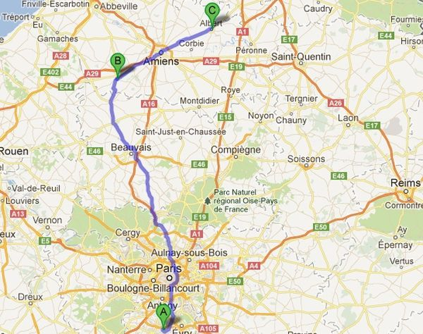 Au total, le convoi aura mis 3 jours pour faire 200 km.