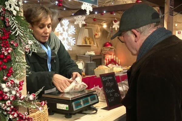 Le marché de Noël de Montbéliard est un des plus anciens en Europe