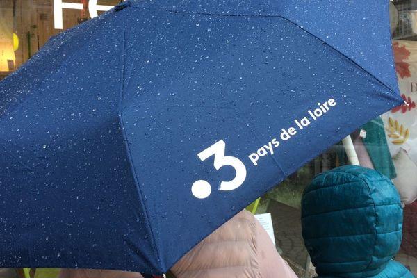 Pluie et vent au programme de samedi dans les Pays de la Loire.