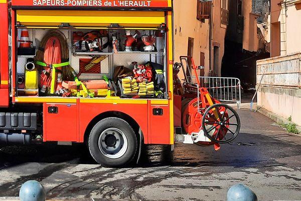 55 pompiers ont été mobilisés au plus fort de l'intervention.