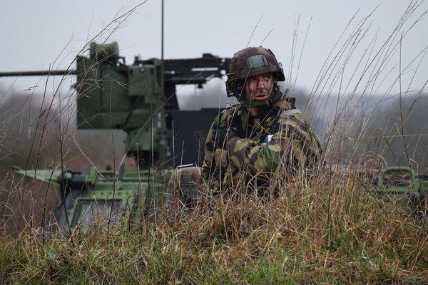 L'armée française est exceptionnellement jeune. Sa moyenne d'âge est de moins de 30 ans