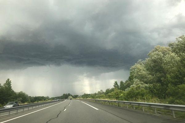 Les orages devraient perdurer jusqu'à début juillet en Auvergne. (Photo d'illustration)
