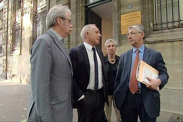 Une délégation d'élus bourguignons a été reçue par le ministre des Transports mardi 23 juillet 2013.