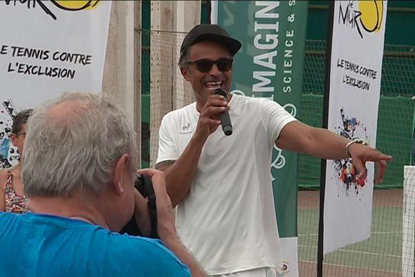 """Yannick Noah à Limoges ce samedi 29 juin 2019 pour """"Fête le Mur"""""""