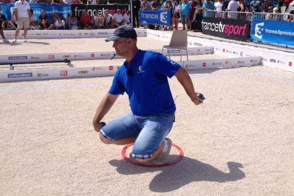 Gérard Garagnon, vainqueur du mondial à pétanque 2014.