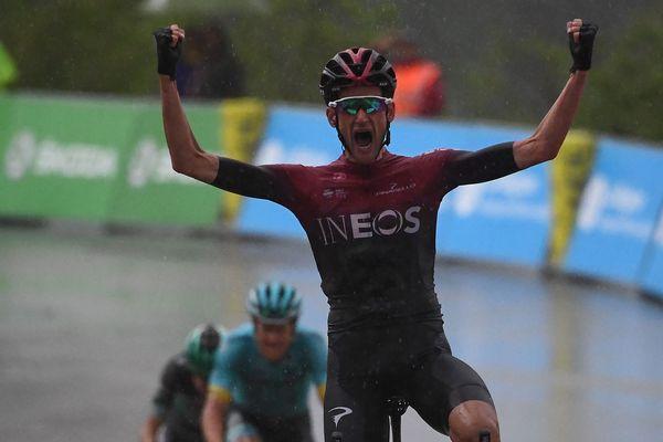 Wout Poels a gagnéla 7e étape du Critérium du Dauphiné.