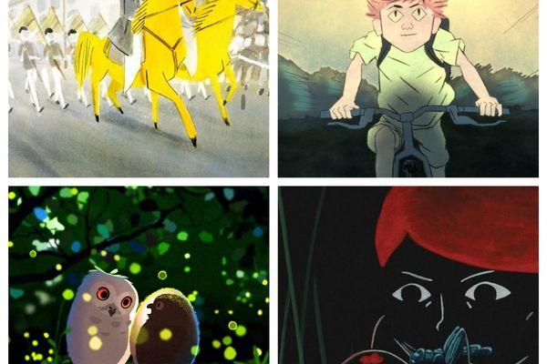 Sur 4 films sélectionnés, il y aura forcément un César pour la Région dans la catégorie court-métrage d'animation