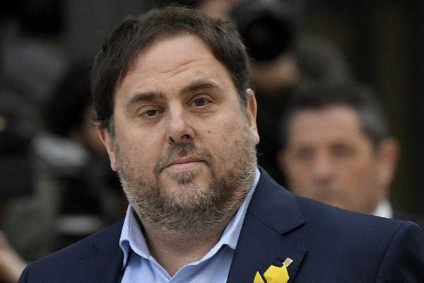 L'ancien vice-président catalan Oriol Junqueras est maintenu en détention par Madrid - 2017.