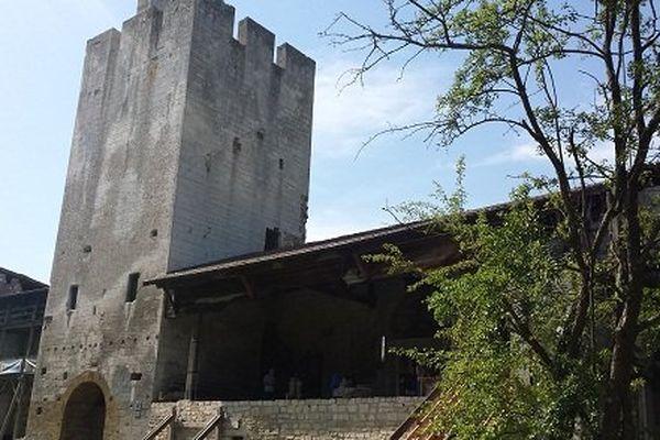 La tour centrale.