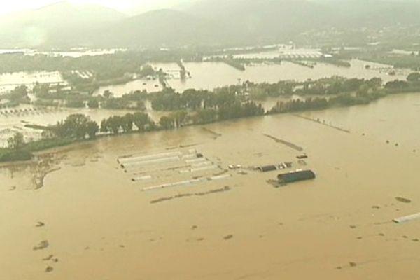 Inondations dans le Var en novembre 2011