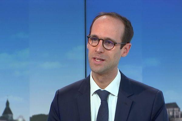 Le directeur général de l'Agence régionale de Santé Bourgogne Franche-Comté était l'invité du journal de 19 heures de France 3 Bourgogne ce mercredi 6 janvier