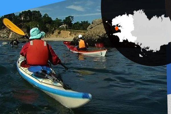 Le kayak idéal pour découvrir les recoins cachés de Crozon