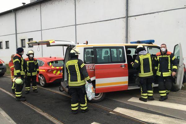 Les pompiers allemands sont venus en renfort