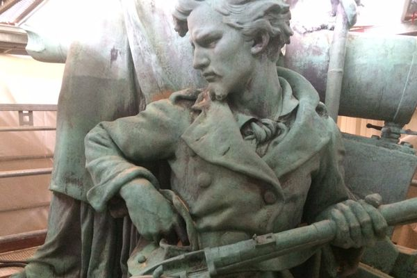 Artiste : Barrias Année d'inauguration : 1883